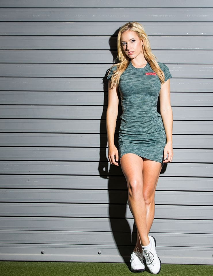 Paige Spiranac on Photoshoot