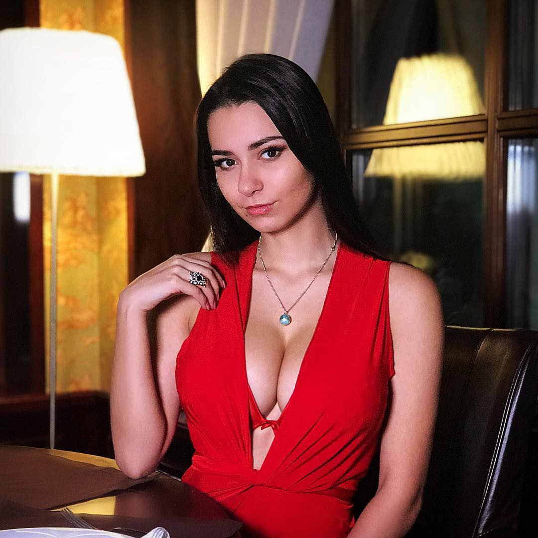 Helga Lovekaty Hot in Red