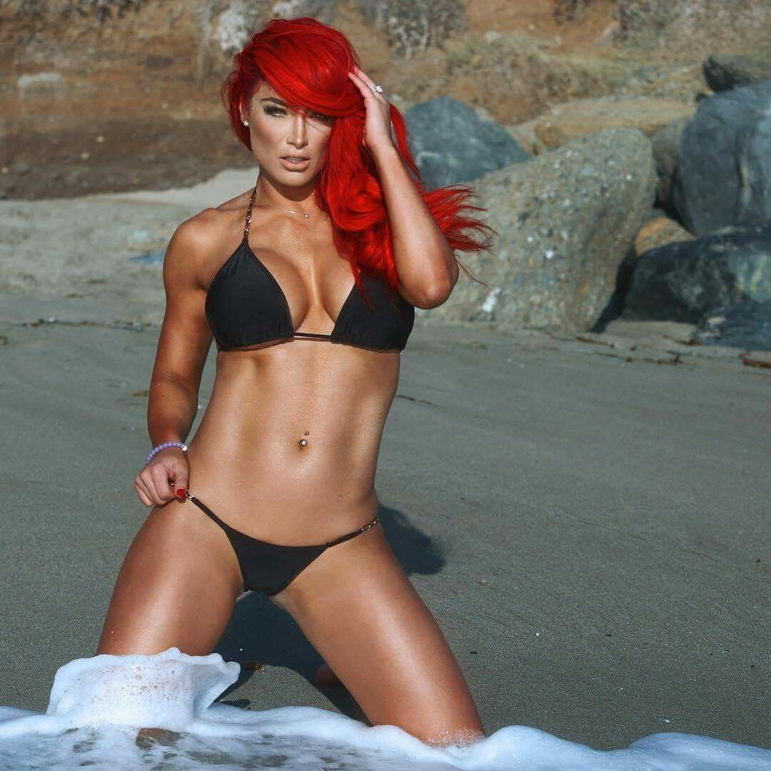 Eva Marie in Beach