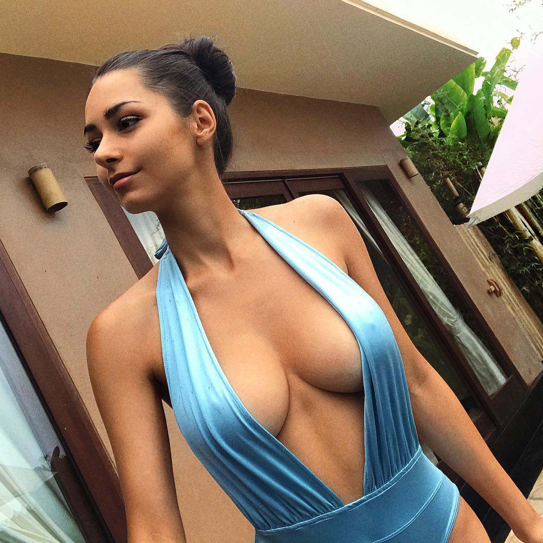 Helga Lovekaty on Photoshoot