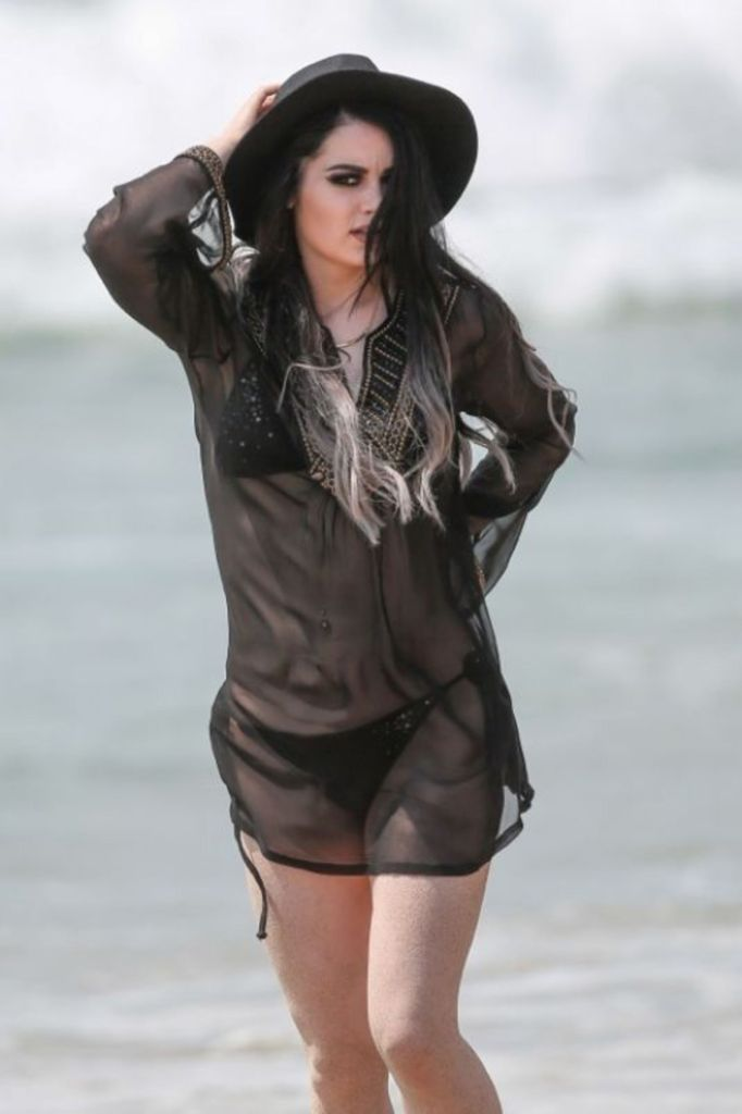 Paige on Beach