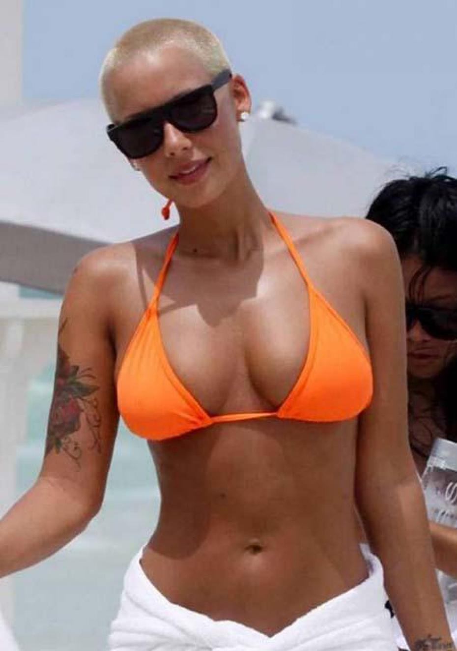Amber Rose in Bikini