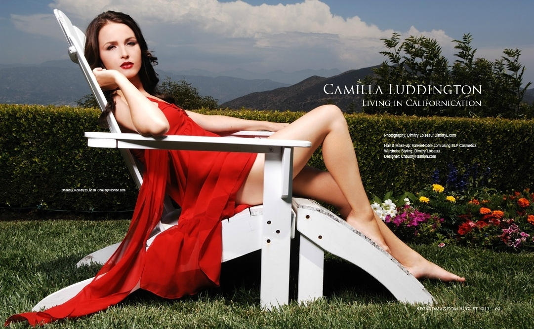 Camilla Luddington on Photoshoot
