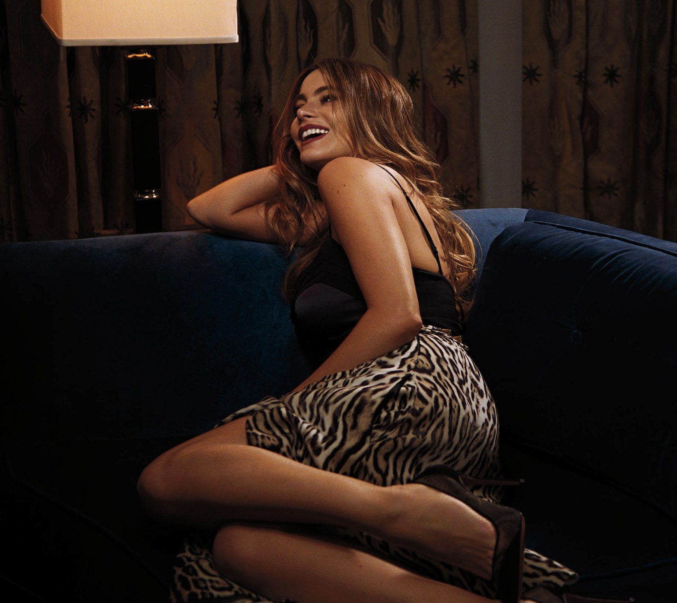 Sofia Vergara on Sofa