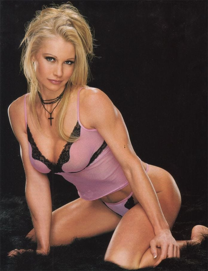 Sable in Lingerie