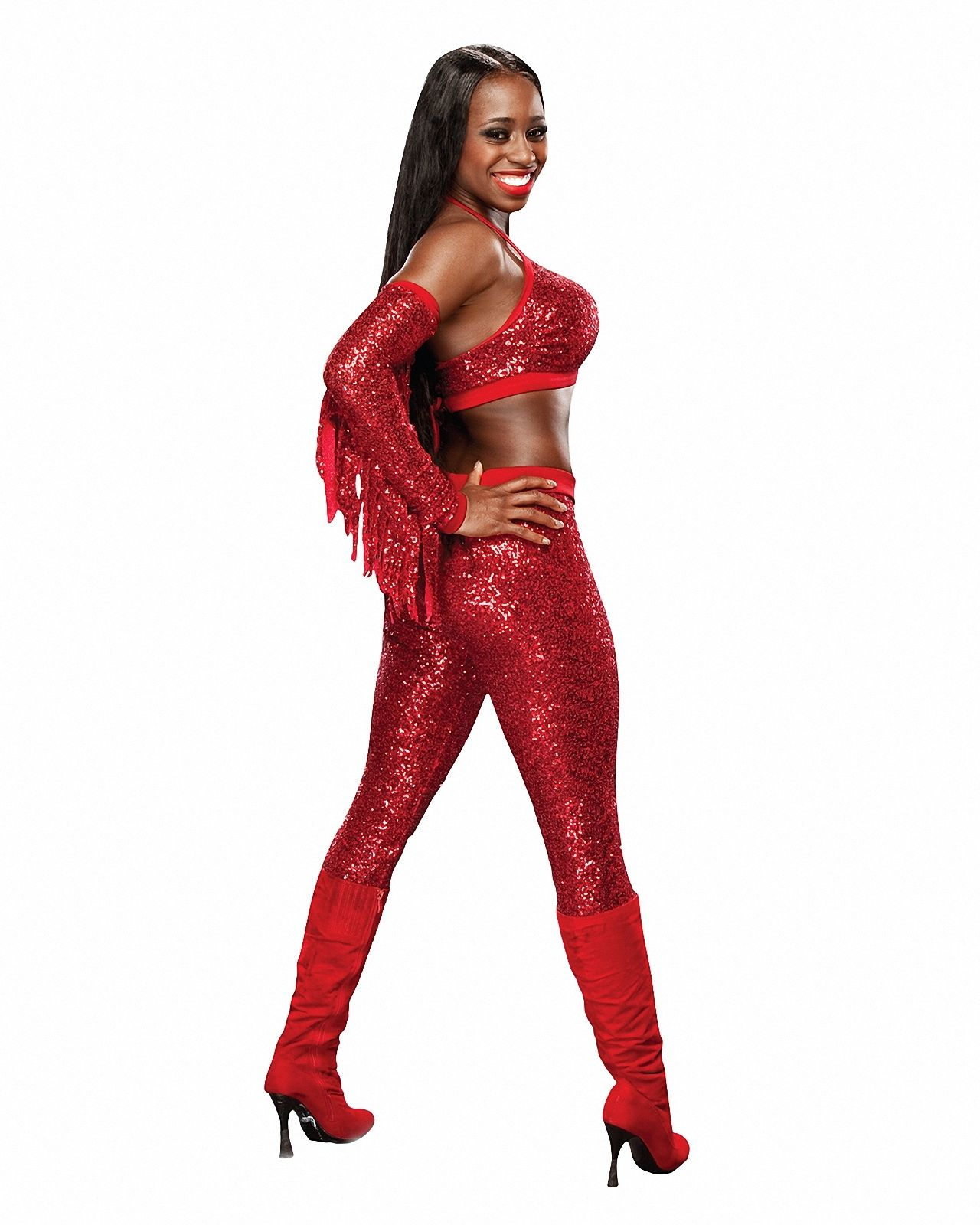 Naomi Hot in Red