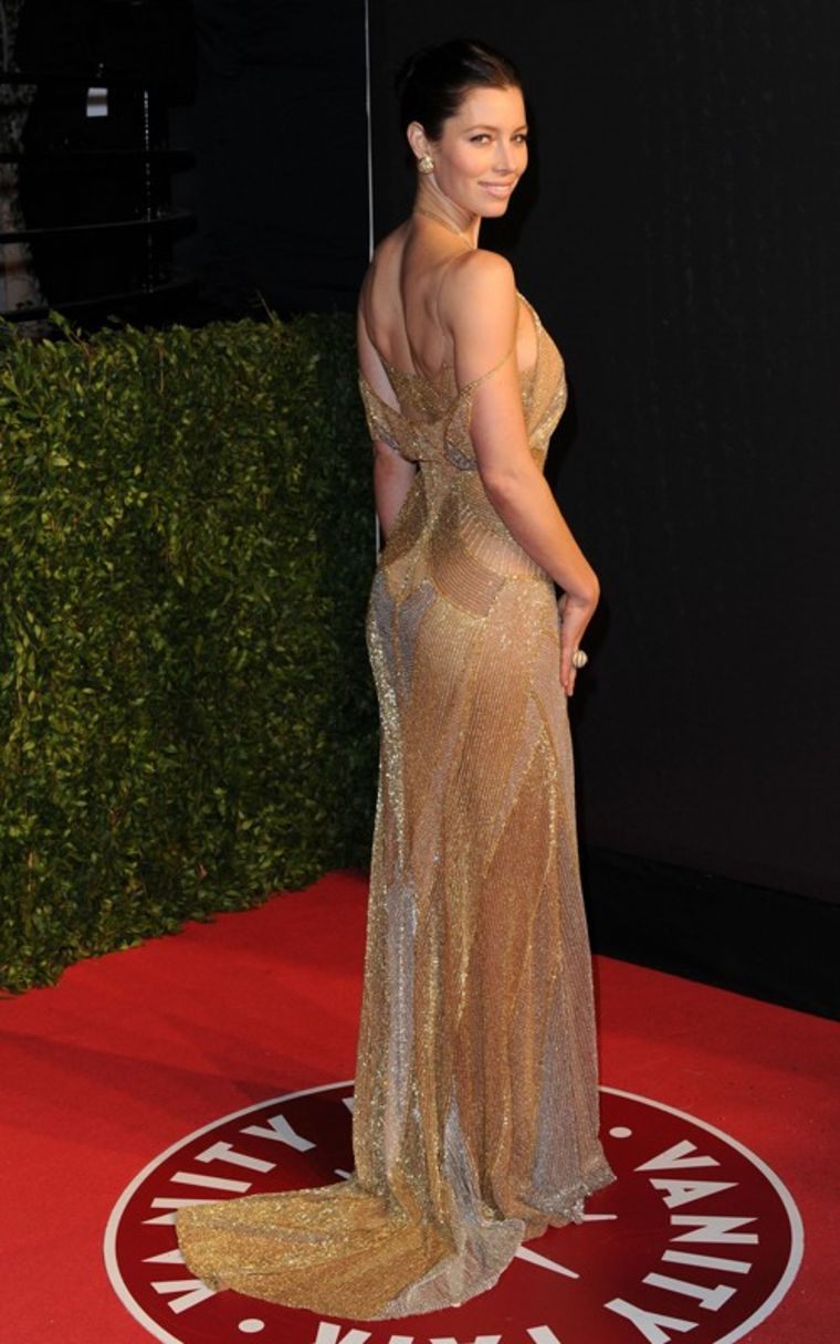 Jessica Biel on Red Carpet