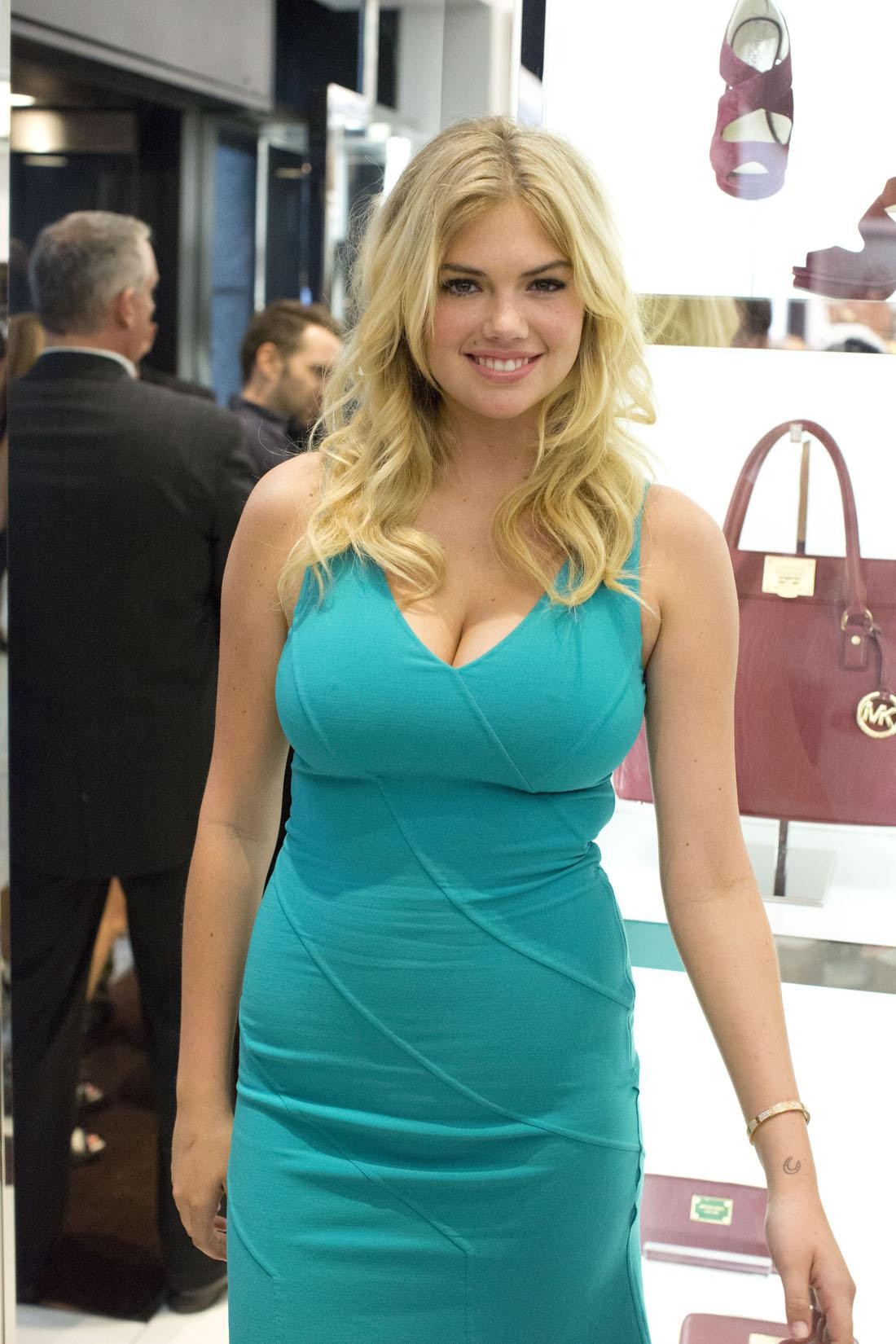 Kate Upton on Smile