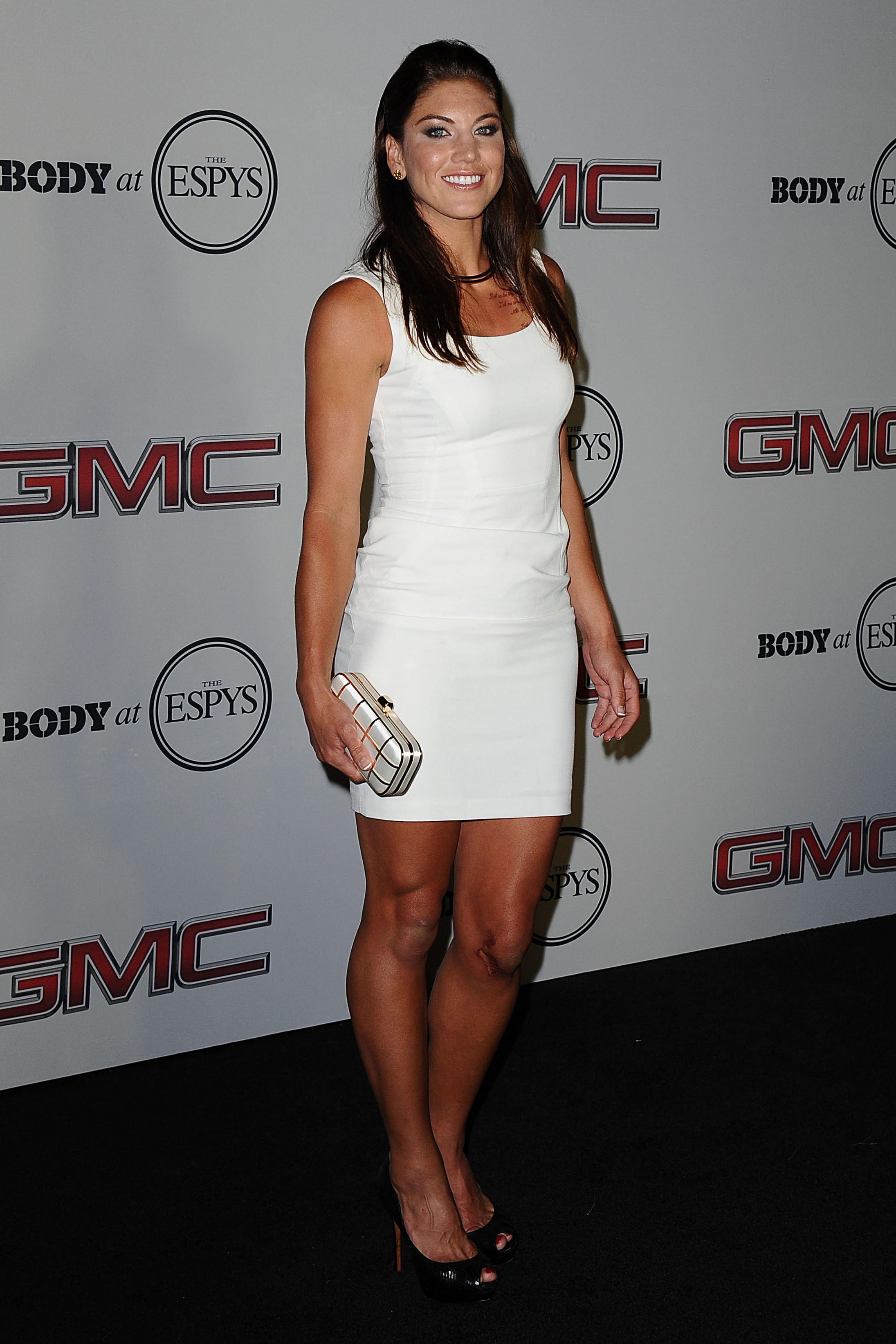Hope Solo Hot in White