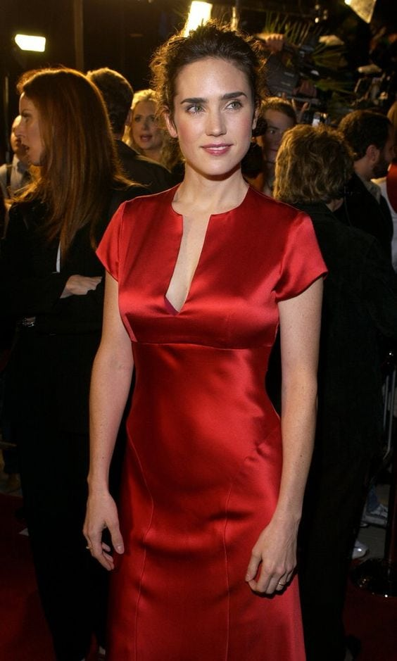 Jennifer Connelly on Red Dress