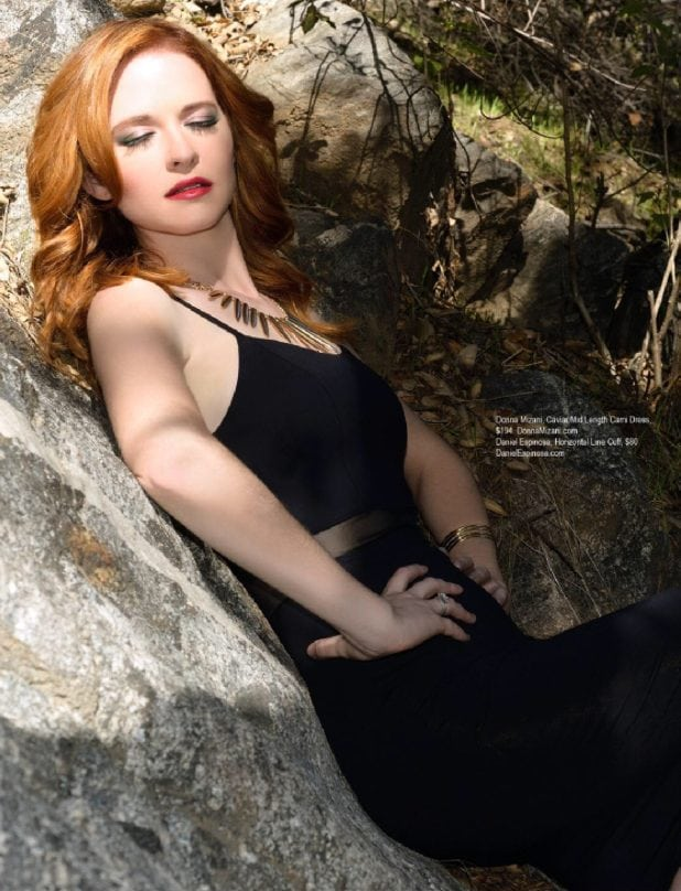 Sarah Drew on Photoshoot