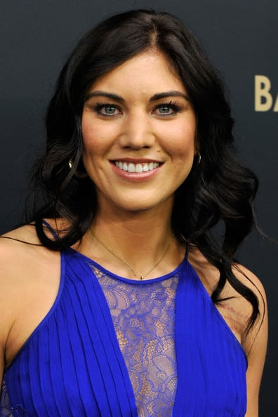 Hope Solo on Smile