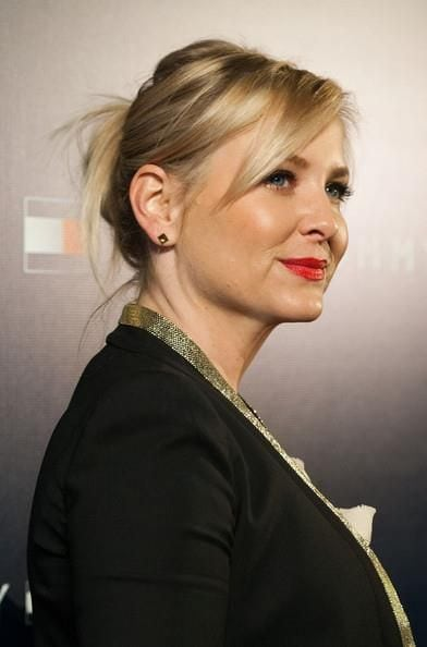 Jessica Capshaw Red Lips