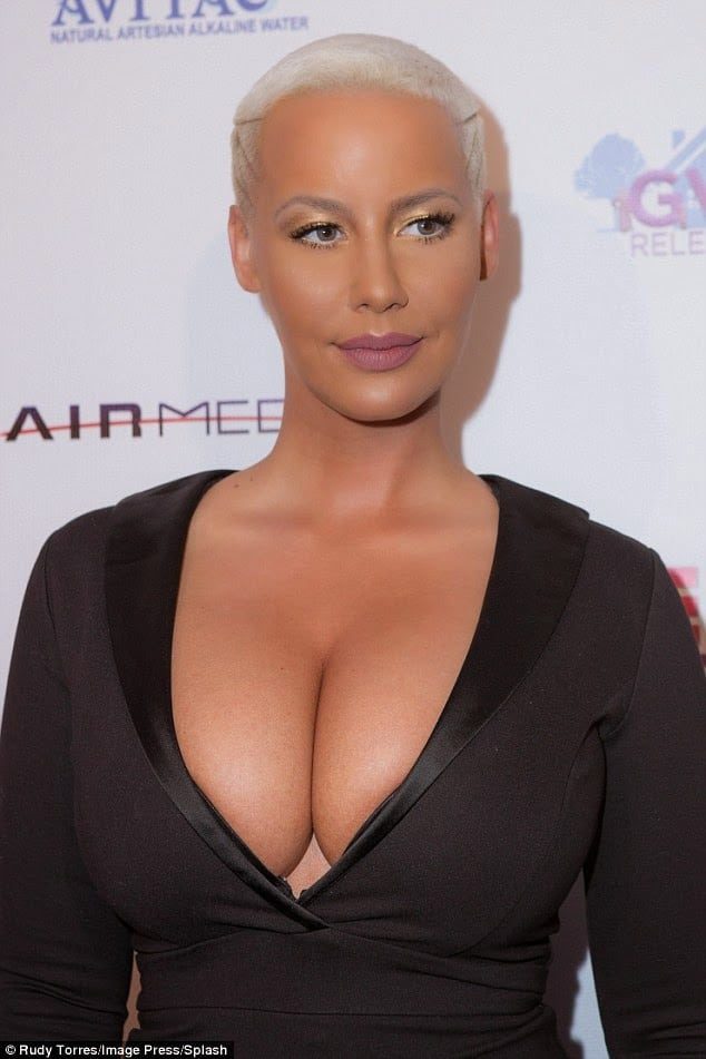 Amber Rose on Photoshoot