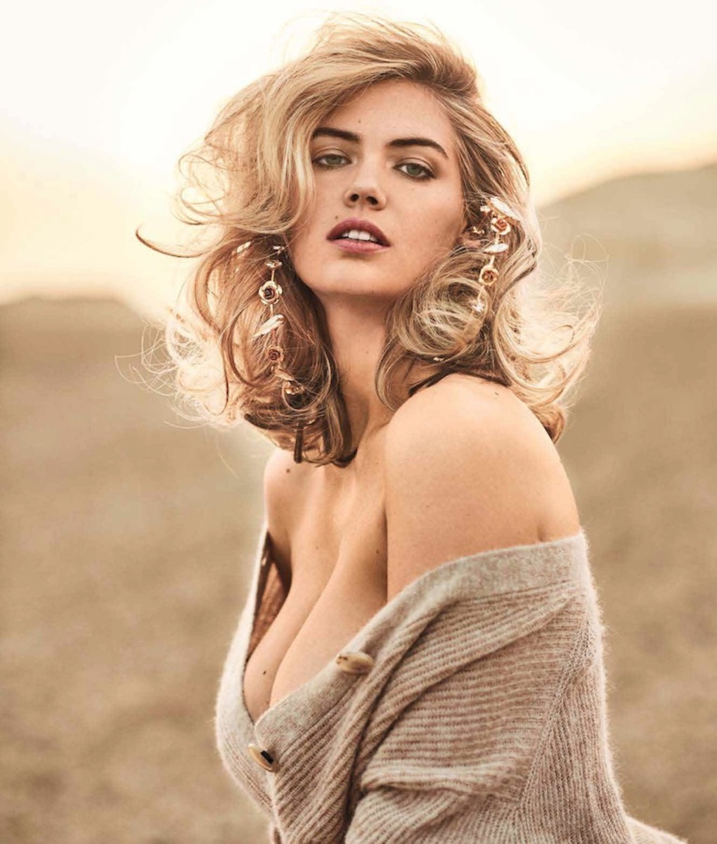 Kate Upton on Photoshoot