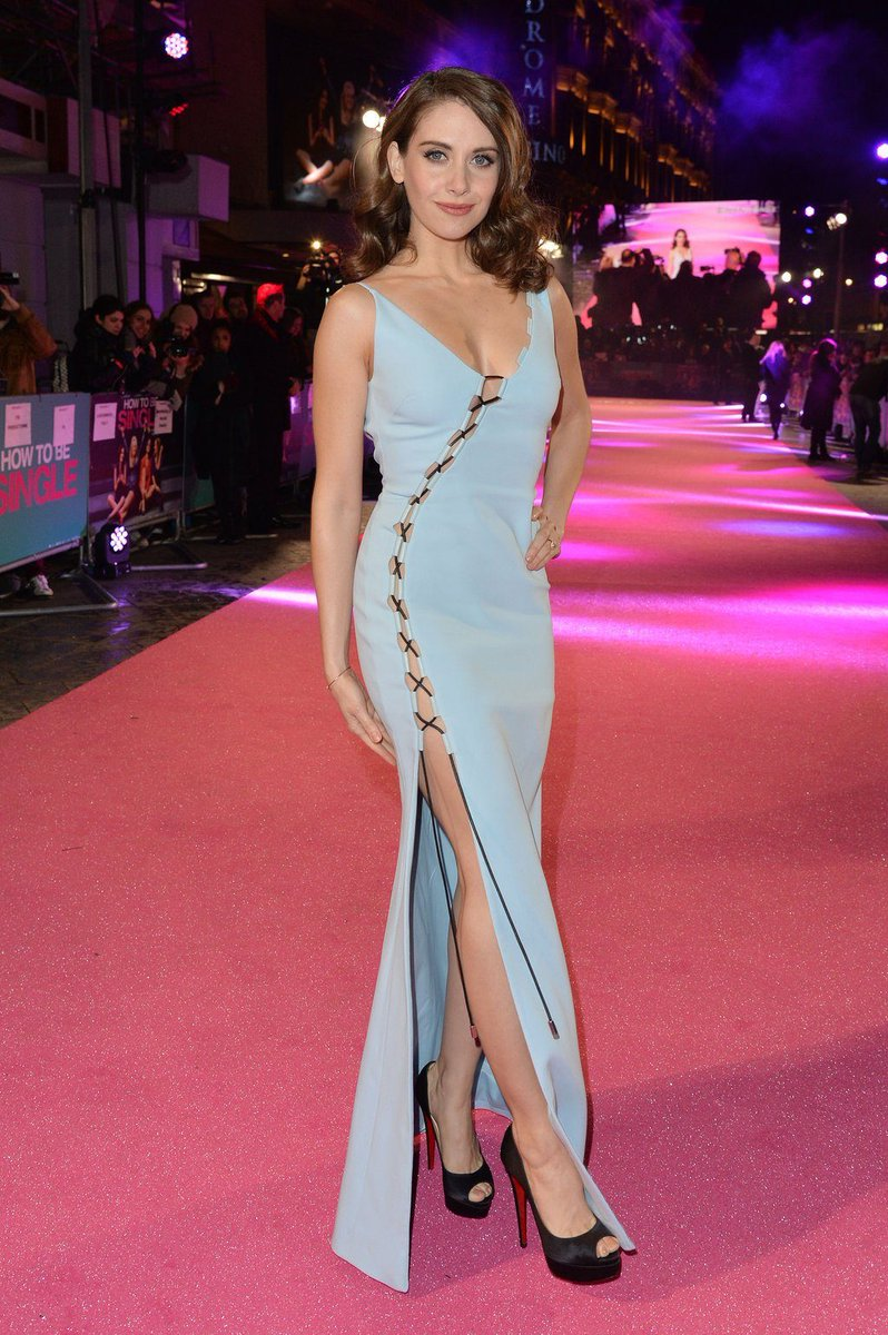 Alison Brie on Red Carpet