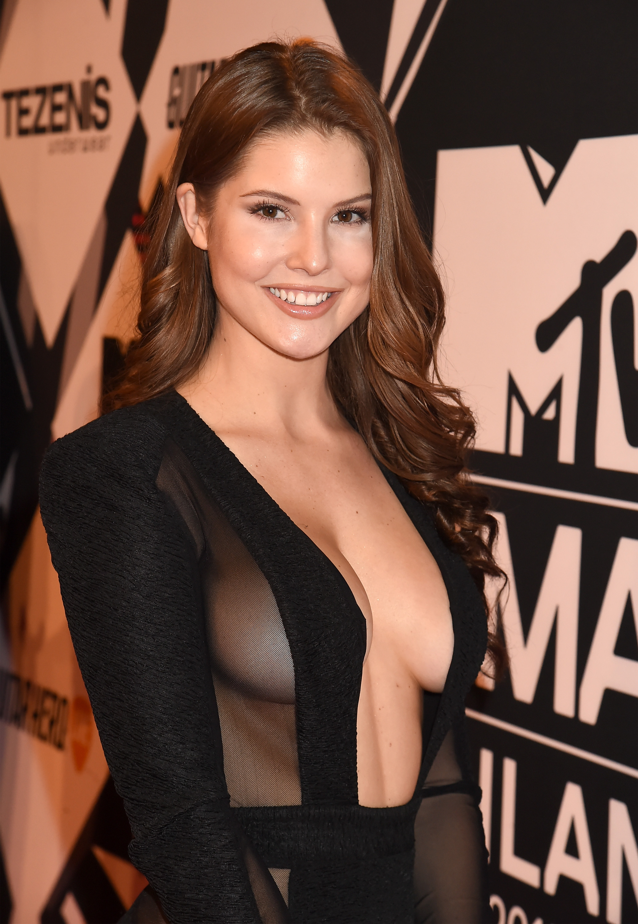 Amanda Cerny Sexy Dress