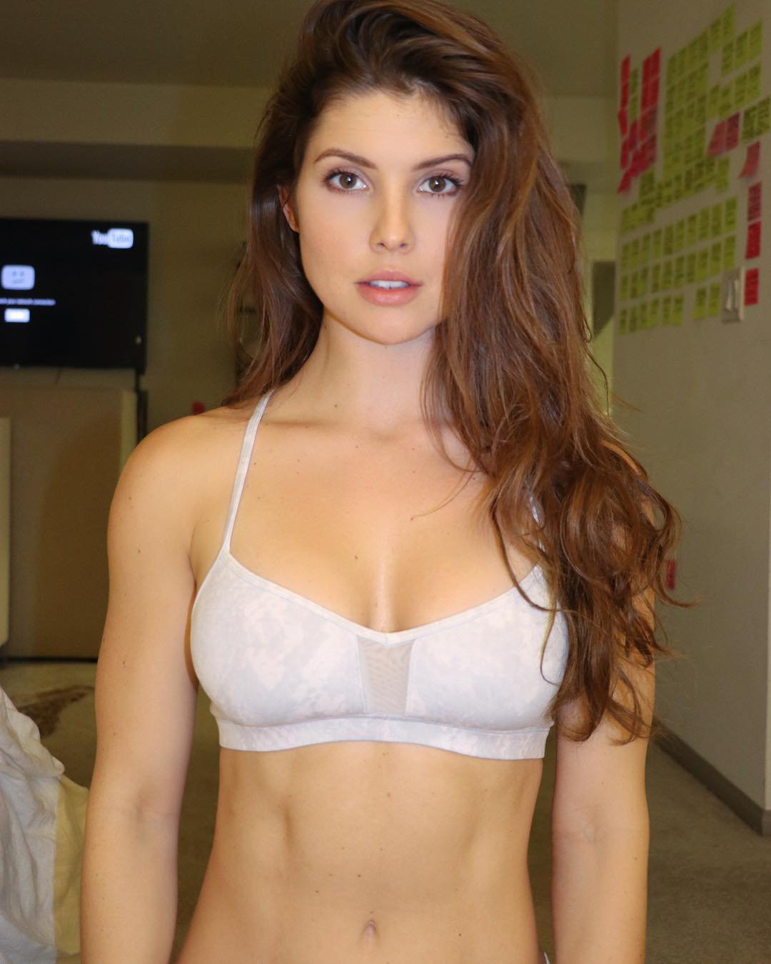 Amanda Cerny in White Bras