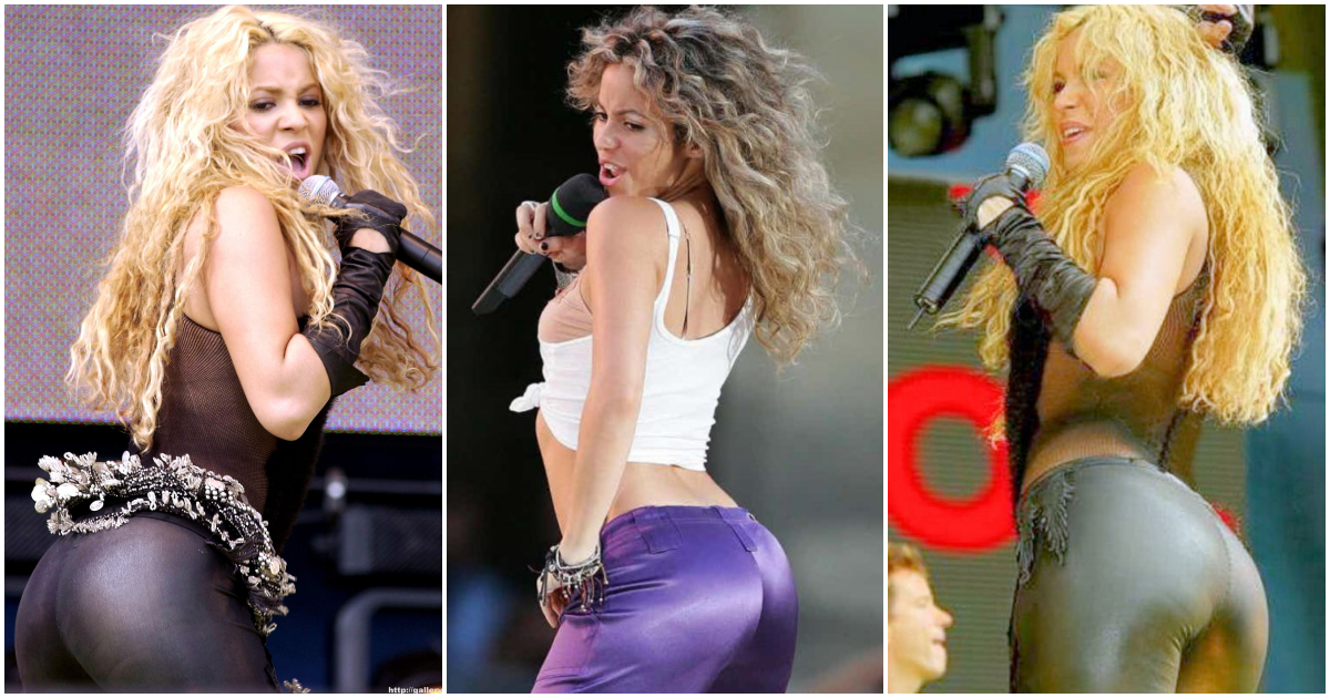 Hot ass nude shakira consider, that