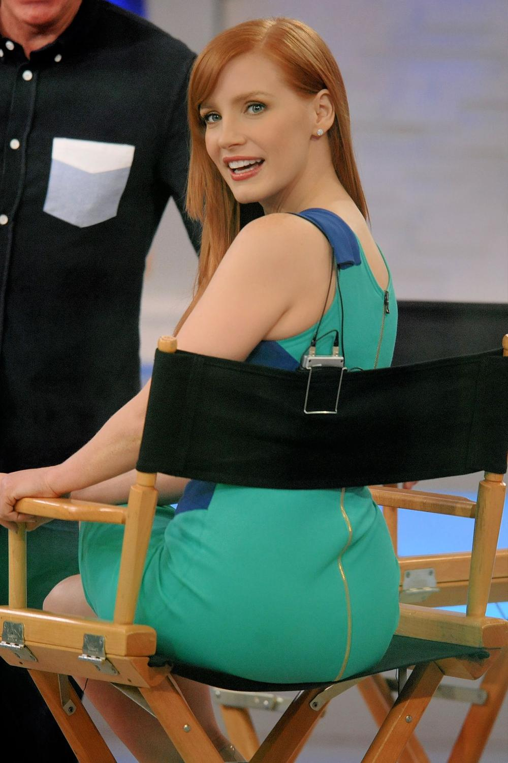 Jessica Chastain Booty