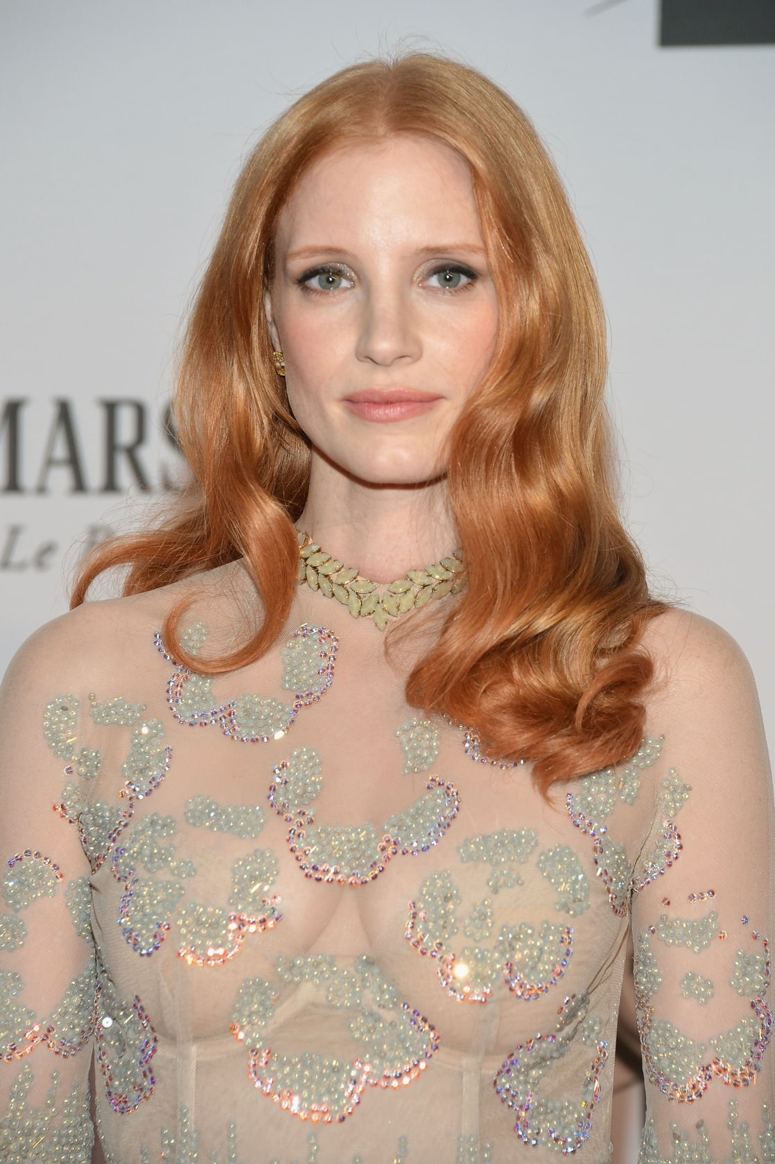 Jessica Chastain Sexy Dress