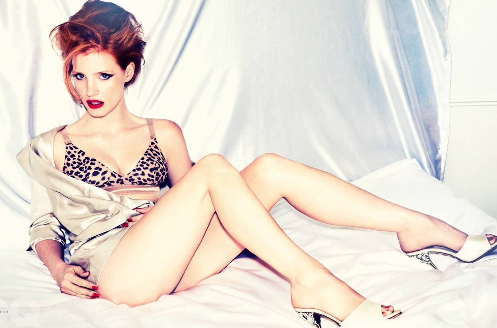 Jessica Chastain Sexy Photoshoot