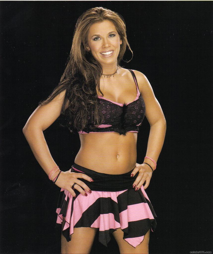 Mickie James in Skirt