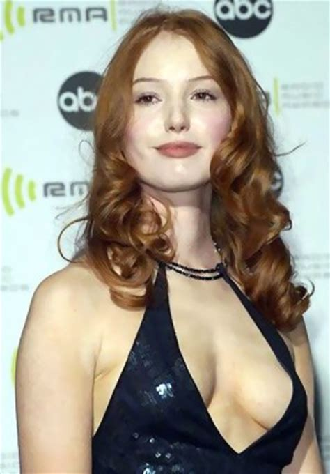 alicia witt cleavage