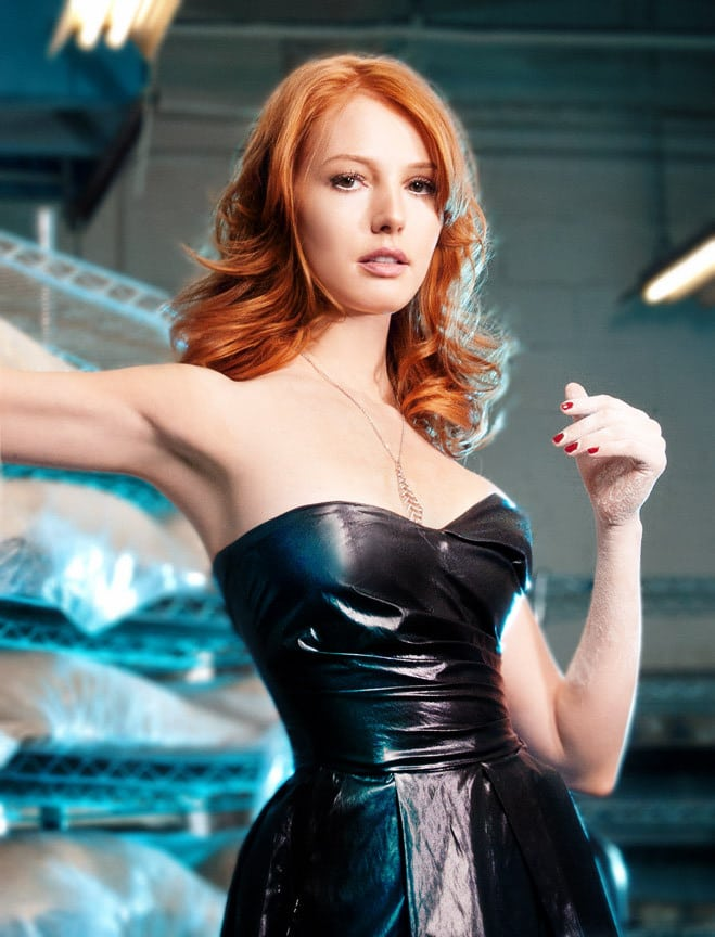 alicia witt hot dress
