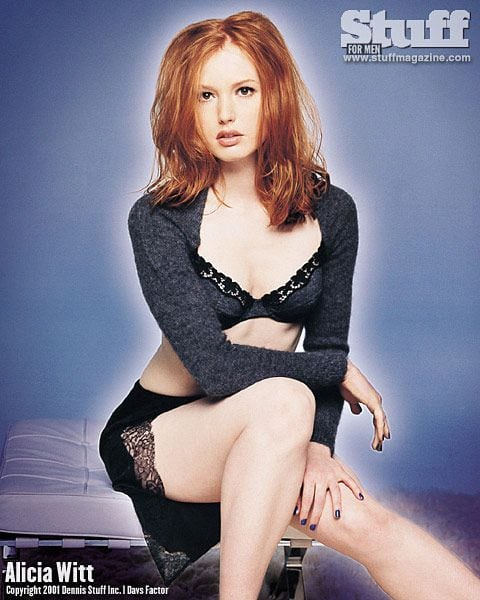 alicia witt hot feet