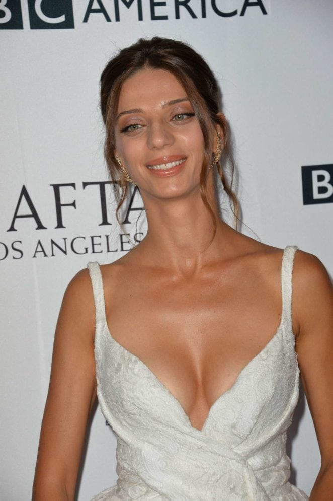 angela sarafyan cleavage