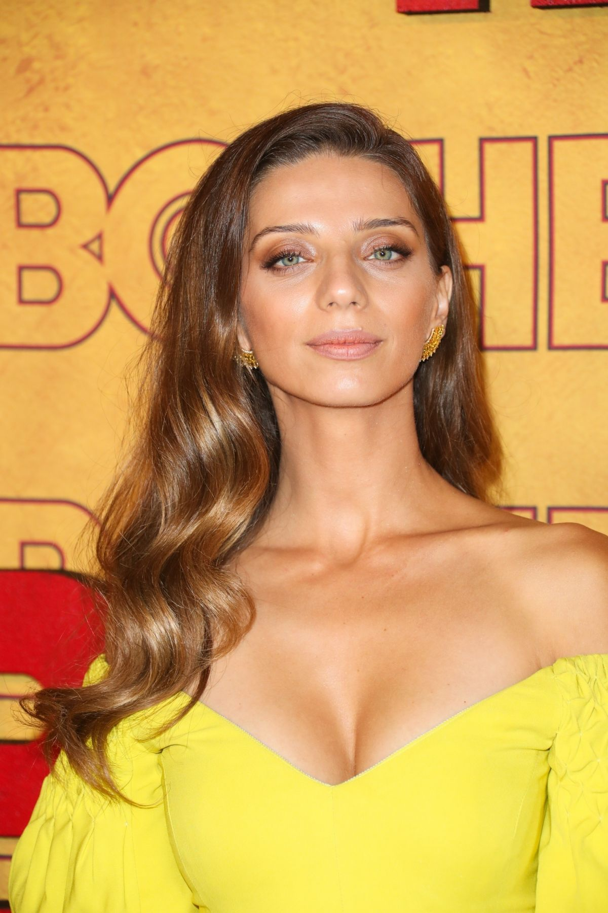 angela sarafyan hot cleavage