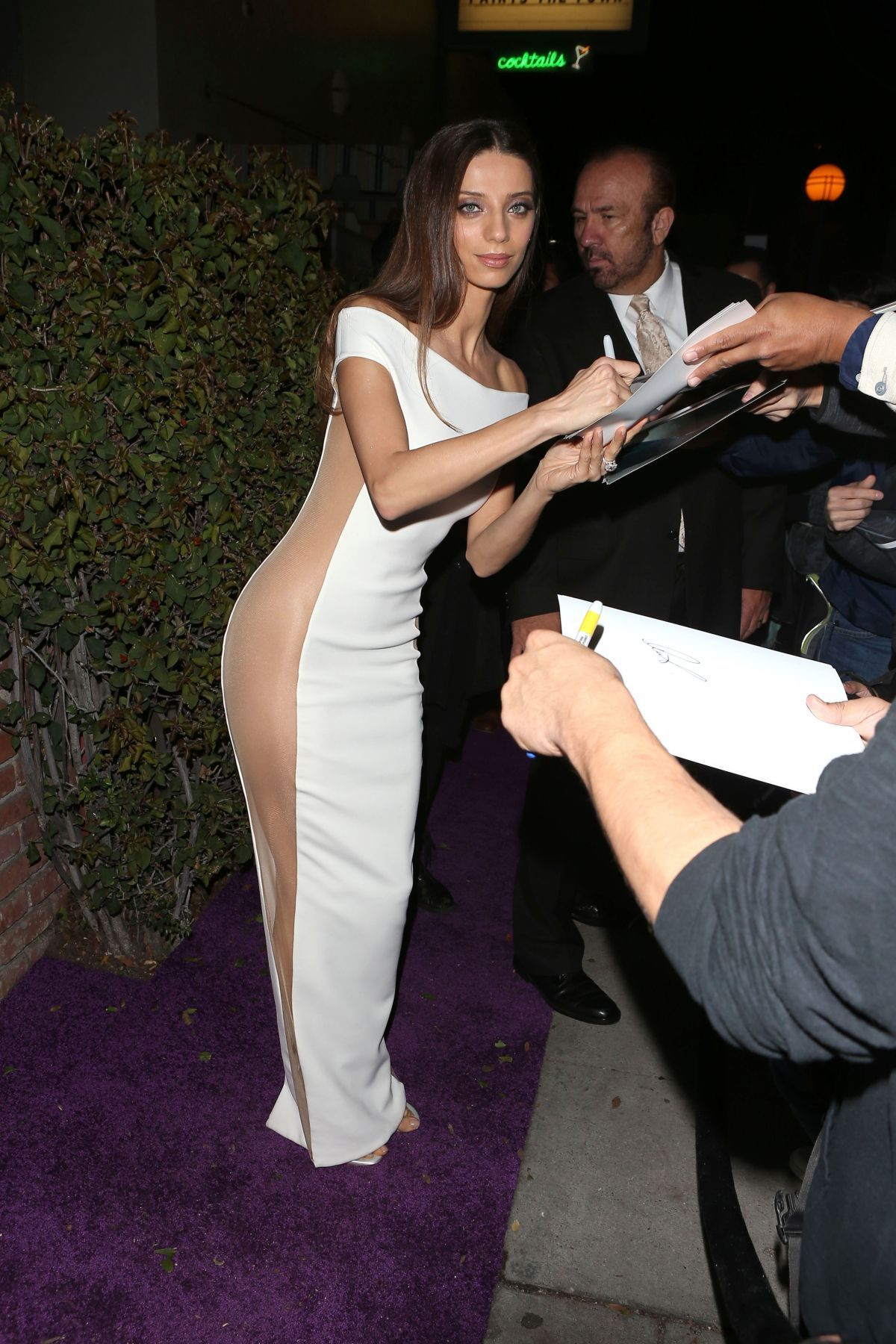angela sarafyan hot dress