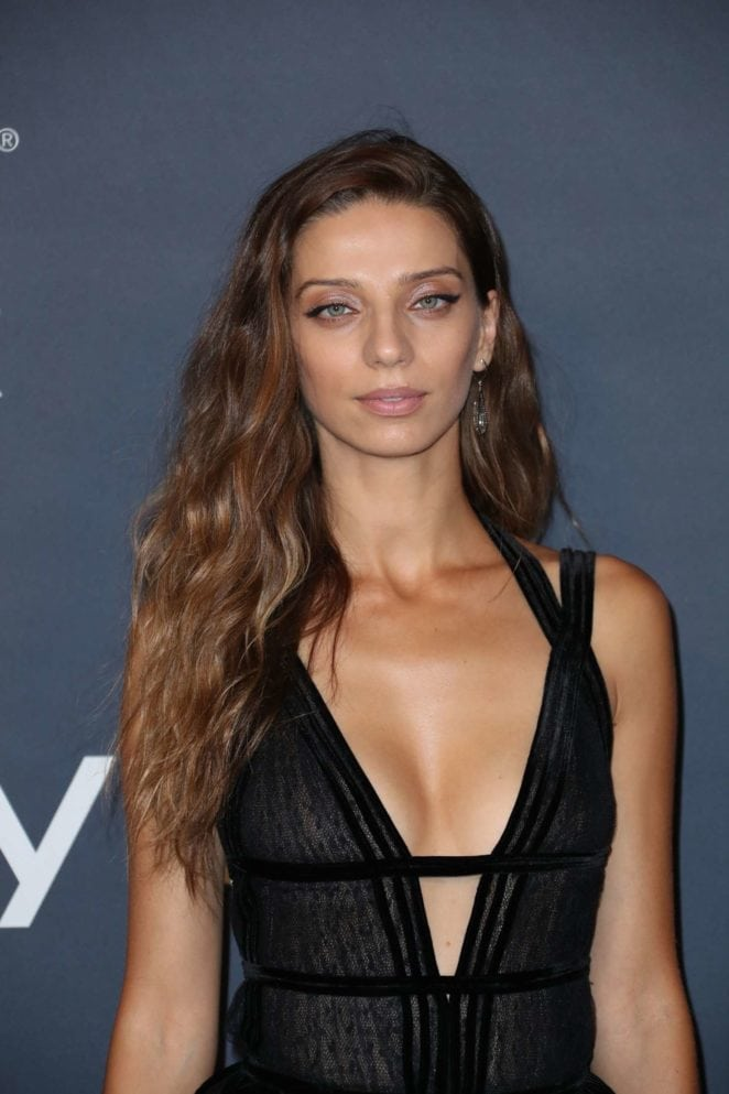 angela sarafyan sexy cleavage