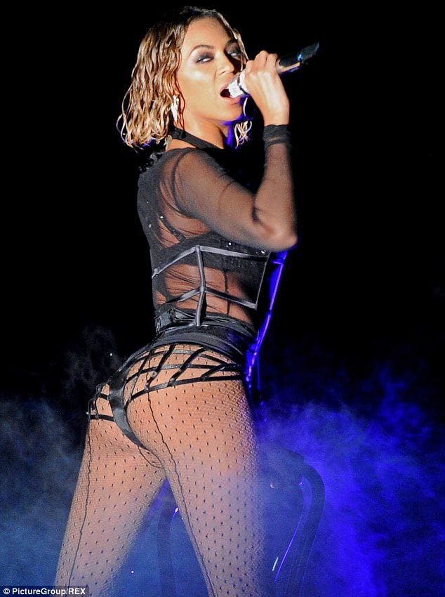 beyonce sexy butt