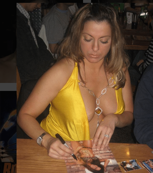 dawn marie cleavage