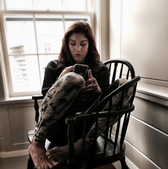 hope solo busy