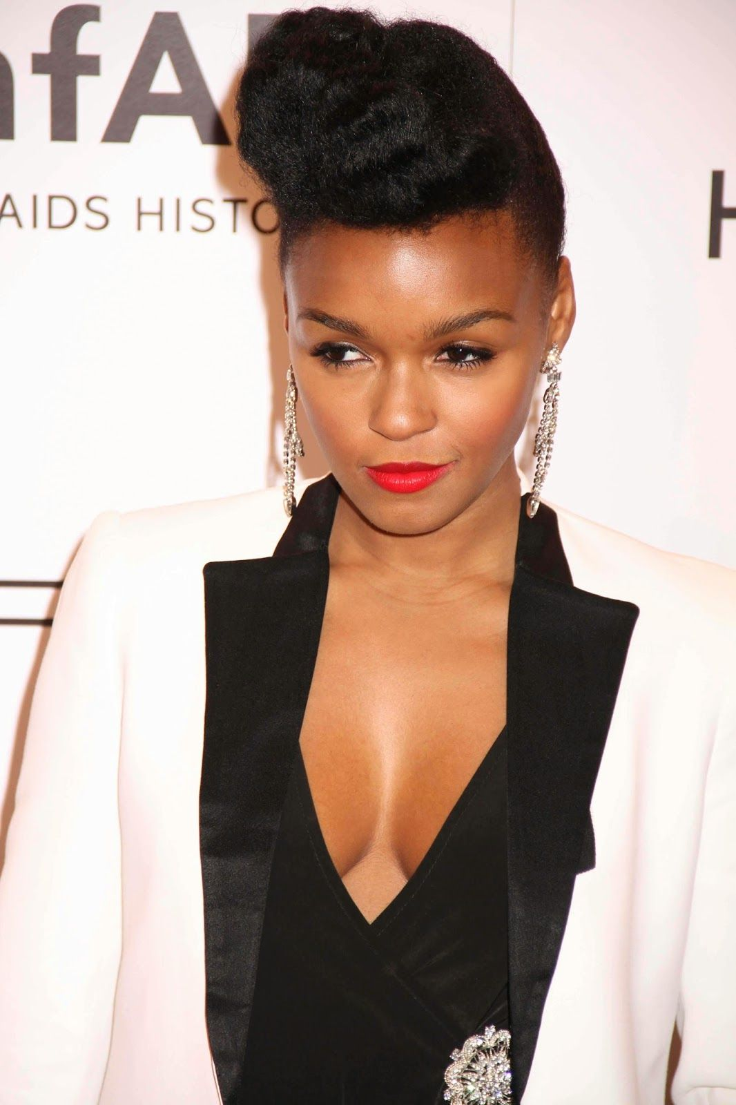 Janelle Monae Cleavage Nude Photos 45
