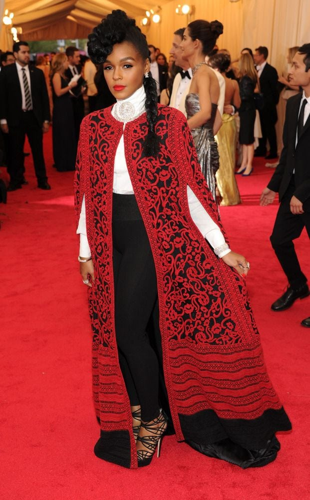 janelle monae red carpet