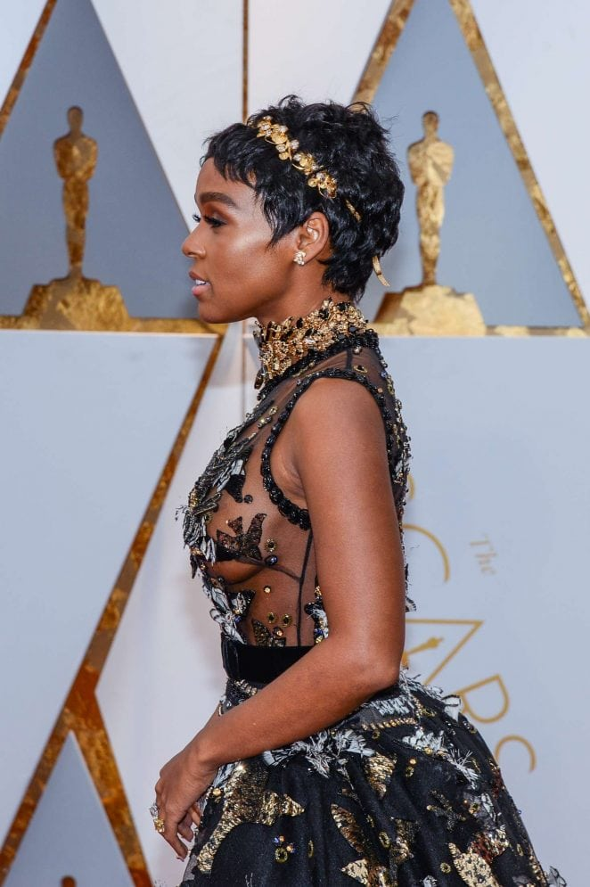 janelle monae sexy dress