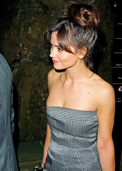 jenna coleman hot dress
