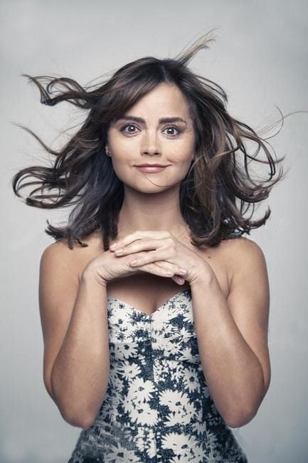 jenna coleman shocking smile