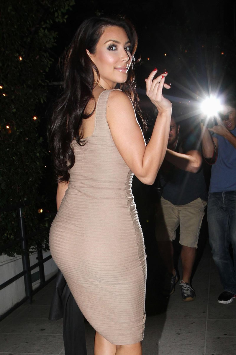 kim kardashian best back
