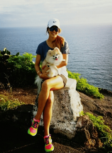 michelle wie dog lover