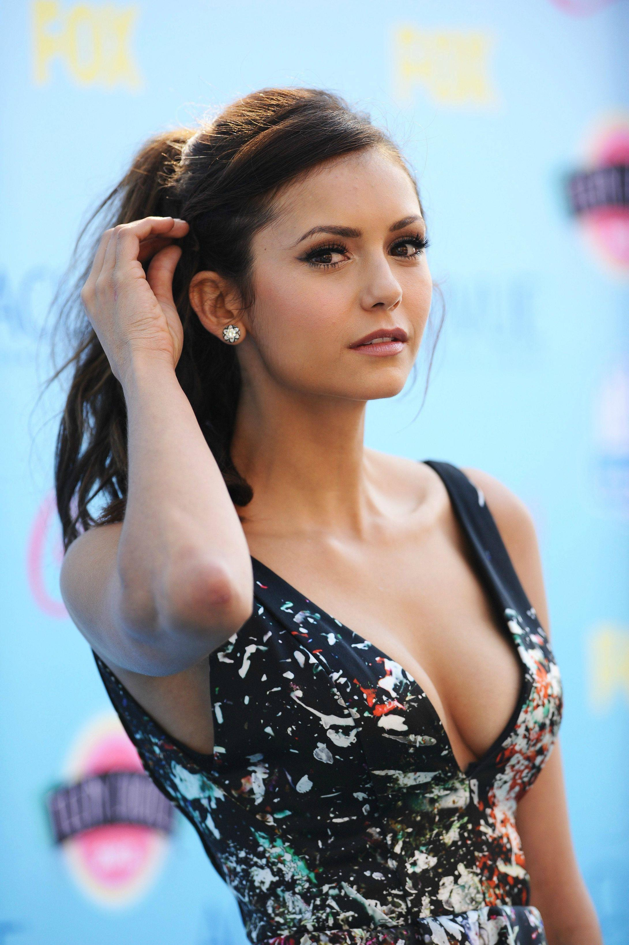 Pussy Boobs Nina Dobrev naked photo 2017