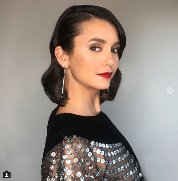 nina dobrev hot lips