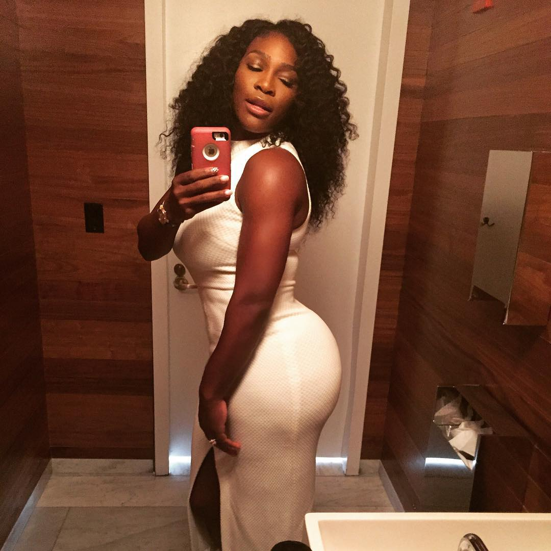 serena williams ass