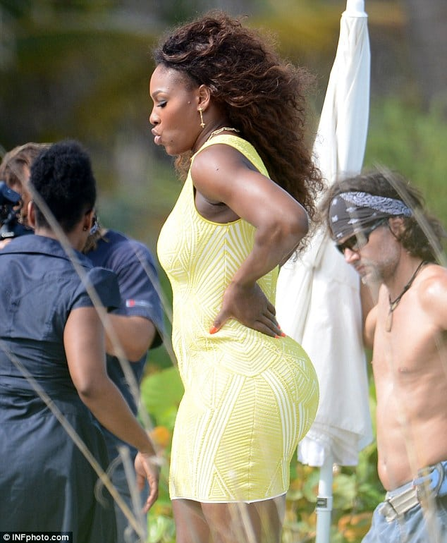 serena williams best ass