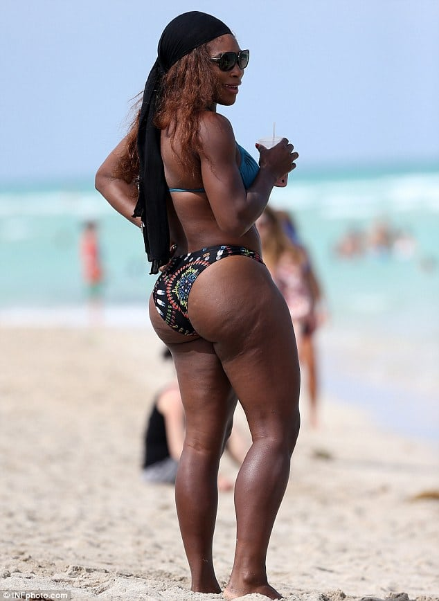 serena williams legs