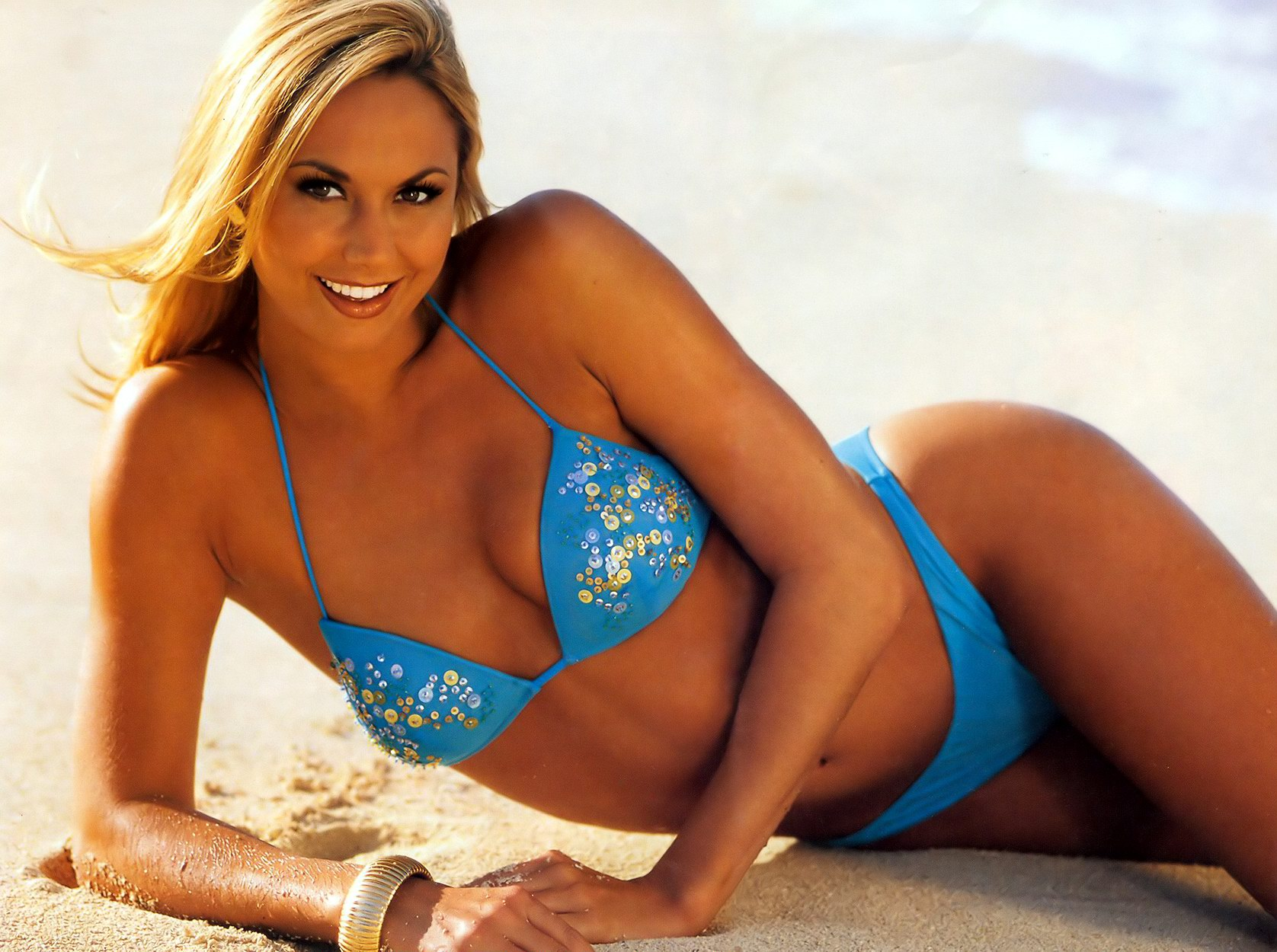 stacy keibler beach